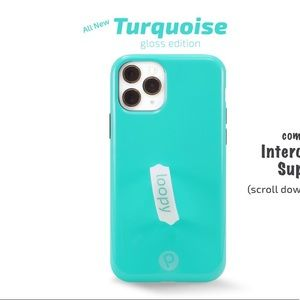 Turquoise Loopy Case iPhone 11 Pro